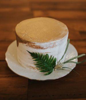 ariel center cake
